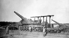 French 320mm Railway Gun