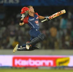 The little Powerhouse David Warner thrashed Deccan Bowlers with unbeaten 103* ...Full entertainment !!!