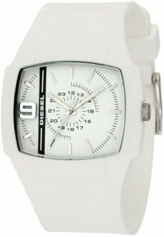 aeb2a548160c Diesel Men s DZ1321 Color Domination White Watch Diesel