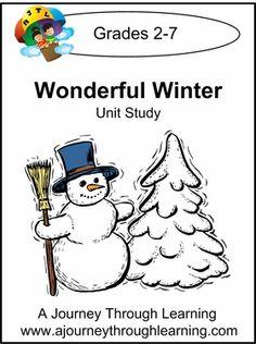Wonderful Winter Unit Study #homeschool #unitstudy