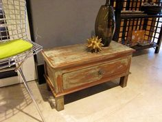Antique stationary chest