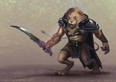 Lion Dude by MariusBota on deviantART