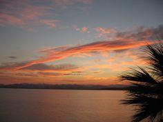 Baja California del Sur: Punta Chivato, tramonto