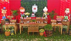 #chapeuzinho #vermelho #infantil #menina #aniversario #umano #brink #festta