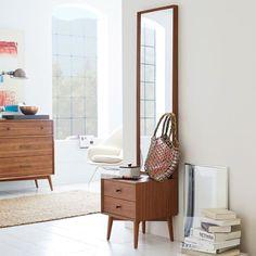 Mid-Century Storage Mirror - Acorn | West Elm -OMG, yes!-