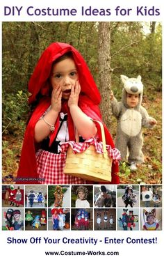 Homemade Costumes for Kids via @costume_works