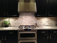 Ceramictec   Tampa Florida Tile Contractor Blog: Stacked Stone Quartz  Backsplash Apollo Beach, Florida