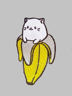 Patch Bananya bord en relief