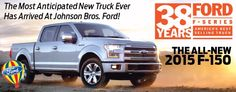 The all-new 2015 #Ford F-150 has arrived!