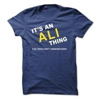 Its An Ali Thing