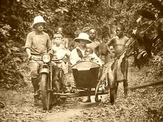 Missionaries and Friends in Cameroun, Africa - 1920s