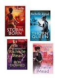 Richelle Mead's 'Dark Swan' series. 4 book series, completed.  Shamanism, fairies, and prophecies. Oh My!