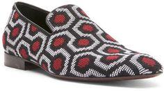 Donald J Pliner Men's PAZANO - SIGNATURE Tapestry Velvet Loafer | DONALD J PLINER saved by #ShoppingIS