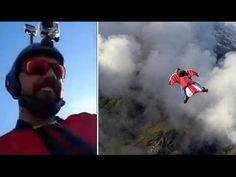Un saltador retransmite su propia muerte por Facebook | Humor666