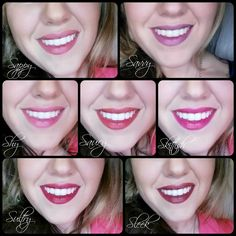 Younique's Lip Stains are so pretty!!! Smudge-proof and water resistant too!