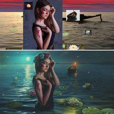 Max Asabin es un artista digital ruso que realiza montajes en Photoshop a un nivel simplemente espectacular. Estos son algunos de sus trabajos