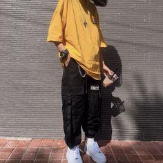 Tall Fashion Tips .Tall Fashion Tips Skater Girl Outfits, Tomboy Outfits, Indie Outfits, Tomboy Fashion, Cute Casual Outfits, Korean Outfits, Retro Outfits, Grunge Outfits, Streetwear Fashion