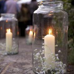 Vintage Pickling Jar Lantern - lights & candles