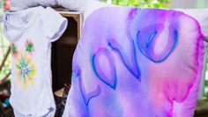 Decorate pillows with the kids at home with @tmemme28's Sharpie Art! Catch #homeandfamily weekdays at 10/9c on Hallmark Channel!