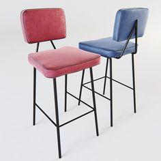 Mambo Unlimited Ideas - State bar chair 3D Model .max .c4d .obj .3ds .fbx .lwo .stl @3DExport.com by IngridIlya