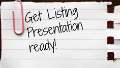 If you don't have a planned listing presentation before you go into a homeowner's living room, then you are going to miss out on a lot of business in the future. The evolution of how real estate brokers do business is changing at record speed and you must keep up to get ahead.