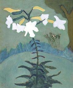 Milton Avery, lilies