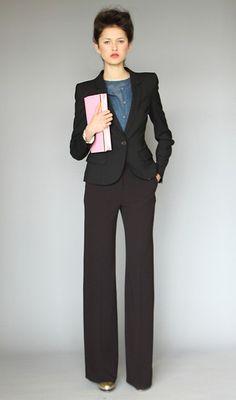 Karen Walker suit