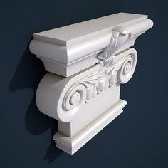 Capital Element 64 Model available on Turbo Squid, the world's leading provider of digital models for visualization, films, television, and games. Pillar Design, Column Design, 3d Studio, Home Decor Accessories, Carving, Graphics, China, Vases, Home