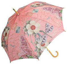 Dragonfly Auto Open Cane Umbrella