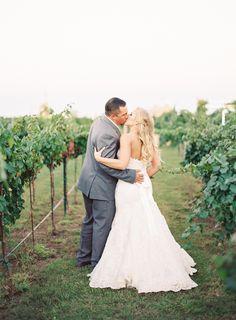 Texas Vineyard Wedding | Photo: Kayla Barker Fine Art Photography | Dress: Blue by Enzoani | Tux: Pronto Uomo |