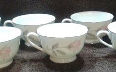 Princess Rose by Royal Crest China Coffee Cups - 10 total #RoyalCrest