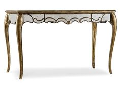 48 1/4 inch Mirrored Writing Desk 5199-10482