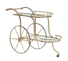 Shop ken fulk admiral bar cart from Pottery Barn. Our furniture, home decor and accessories collections feature ken fulk admiral bar cart in quality materials and classic styles. Bar Furniture For Sale, Home Bar Furniture, Cabinet Furniture, Furniture Ideas, Accent Furniture, Brass Bar Cart, Gold Bar Cart, Ken Fulk, Home Bar Sets