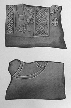 Meigle 24 - Pictish Shoes / Dress