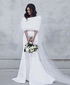 Winter wedding dress, Winter wedding gowns, Wedding dresses, Wedding coat, Wedding dresses under Winter wedding receptions - Are you having a winter wedding We have some options for you to stay - The Bride, Wedding Bride, Wedding Gowns, Wedding Shawls, Wedding Flowers, Butterfly Wedding, Wedding Music, Bridal Gowns, Perfect Wedding