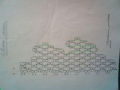 Маки | biser.info - схема плетения листика мака
