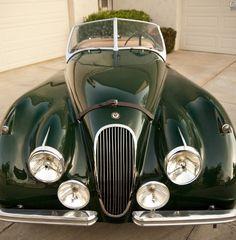1954 Jaguar XK120 Roadster #classiccars #cars