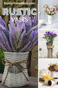 Whether you like fresh flowers or artificial flowers, you are going to need a vase to display them. Shop our wide selection of shapes and sizes and choose the rustic vase that is best for you. Flower Centerpieces, Flower Vases, Rustic Vases, Fresh Flowers, Artificial Flowers, Glass Vase, Shapes, Display, Plants