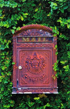 Mailbox You've Got Mail, Mail Boxes, Going Postal, Post Box, Snail Mail, Home Projects, Vintage Antiques, Stamps, Merry