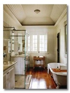 Love EVERYTHING about this bathroom.......