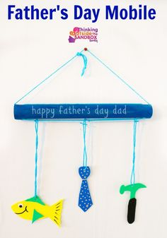 Happy Father's Day Mobile Craft