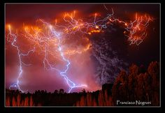 Erupcion Cordon Caulle... by Francisco Negroni