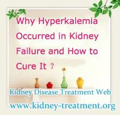 Why Hyperkalemia occurred in Kidney Failure ?  Normal serum potassium levels range from 3.5 to 5.0 mEq/liter in the blood. Normal daily intake of potassium is 70-100 mEq (270 to 390 mg/dl), and requires the kidneys to remove that same amount each day. Once the kidneys damaged, they can not remove the potassium timely that will lead to hyperkalemia
