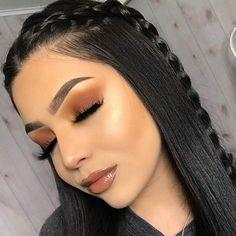 Favorite Beauty Eye Makeup Looks Ideas 16 Makeup Eye Looks, Cute Makeup, Gorgeous Makeup, Pretty Makeup, Glam Makeup, Awesome Makeup, Beauty Make-up, Beauty Hacks, Hair Beauty