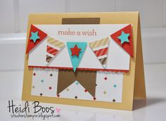 Stylin' Stampin' INKspiration: 4 cards...1 layout...with banners!