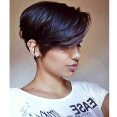 "194 Likes, 2 Comments - SHORT HAIR (@chopitoff) on Instagram: ""❤️ @hevilyp . . . . . #pixie #pixiecut #sidecut #undercut #buzzcut #headshave #girlswithshorthair…"""