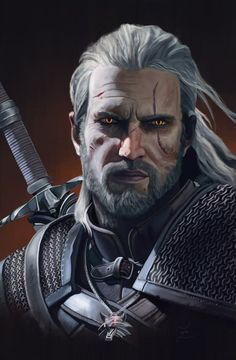 Imagem de the witcher and witcher