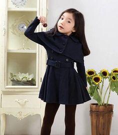 高品質 プリンセス 子供 用 コート キッズ 衣装10-12歳女の子 (ネイビーブルー) 2014 http://www.amazon.co.jp/dp/B00NPWBNRY/ref=cm_sw_r_pi_dp_gDohub1ATK3NE