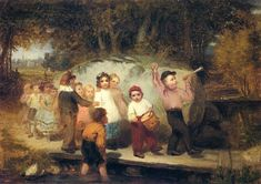 The Athenaeum - Marching Along (John George Brown - )