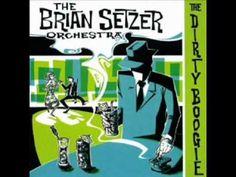 The Brian Setzer Orchestra - Rock This Town (Studio Version)